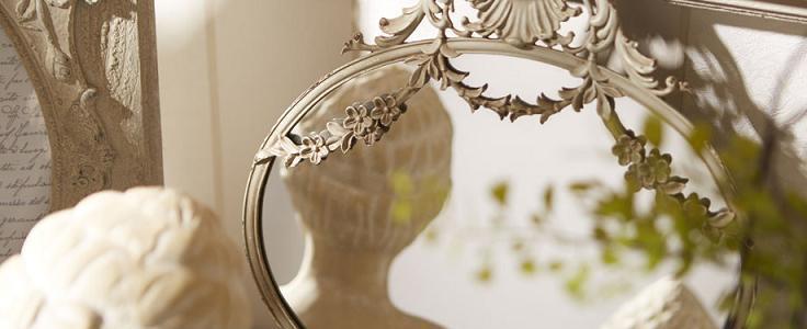 Ogledala, okvirji in slike