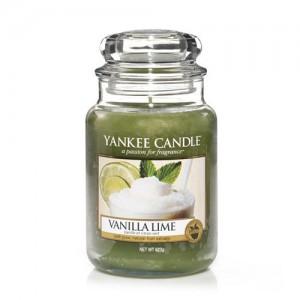 YC sveča V. VANILLA LIME