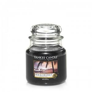 YC sveča S. BLACK COCONUT