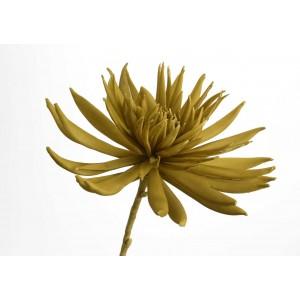 Roža LOTUSA oker/zlata 131063