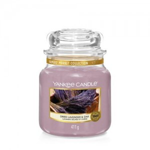 YC sveča S.  DRIED LAVENDER & OAK