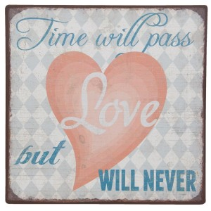 Napis TIME WILL PASS...6Y1919
