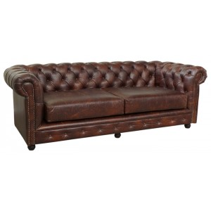 Dvosed CHESTERFIELD ML-7119 usnje
