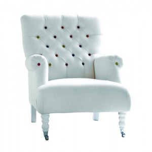 Fotelj MAYA NC-7701 blago