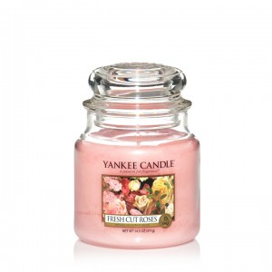 YC sveča S. FRESH CUT ROSES