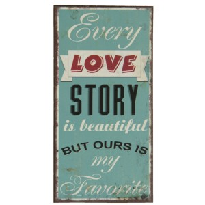 Magnet EVERY LOVE STORY... 6Y1555